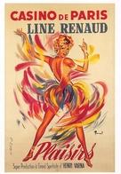Brenot Line Renaud Casino De Paris Pin Up - Illustrateurs & Photographes