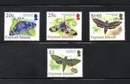 CAYMAN, 2017, BUTTERFLIES, 4v. MNH** - Papillons
