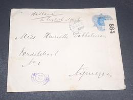 INDES NÉERLANDAISES - Entier Postal De Batavia Pour Les Pays Bas En 1917 Avec Contrôle Postal - L 19880 - Indes Néerlandaises