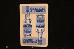 Playing Cards / Carte A Jouer / 1 Dos De Cartes Avec Publicité /  Marcelin&Fils, France - Spiritueux - Cognac - Playing Cards