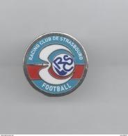PINS PIN'S FOOT FOOTBALL RCS STRASBOURG BLASSON 16 MMS EGF - Football
