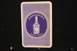 Playing Cards / Carte A Jouer / 1 Dos De Cartes Avec Publicité / Distillerie-Heraldine, Jacques Neefs.Antwerpen - Anver - Cartes à Jouer