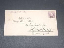INDES NÉERLANDAISES - Entier Postal Surchargé Pour Hambourg - L 19882 - Indes Néerlandaises