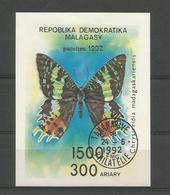 Madagascar 1992 Butterflies S/S  Y.T. BF 78 (0) - Butterflies
