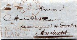 Luxembourg - Lettre Préphilatélie De LUXEMBOURG Vers Maestricht Pour P. De La Fontaine 1837 - Luxembourg