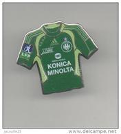 PINS PIN'S FOOT FOOTBALL ASSE SAINT ETIENNE MAILLOT KONICA MINOLTA - Football