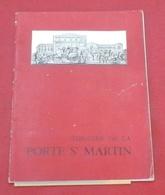 """Programme Théâtre De La Porte Saint Martin 1953 """"Feu Monsieur De Marcy"""" Max Regnier Raymond Vincy Jane Marken - Programs"""
