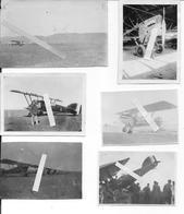 1930 Maroc Aviation Française GC4 Avion Potez N67 Pilote Mécanicien 6 Photos Aviation Aviateur - Aviation