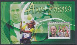Guinée BF N° 334 XX Sport : Le Champion De Tennis Vd<  Bvcf, Le Bloc Sans Charnière, TB - Guinea (1958-...)