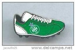 PINS PIN'S FOOT FOOTBALL ASSE SAINT ETIENNE LOIRE CHAUSSURE  LES VERTS - Football