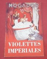 """Programme Théâtre Mogador Années 50 """"Violettes Impériales"""" Henri Varna Paul Achard Vincent Scotto Lina Walls - Programs"""