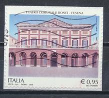 °°° ITALIA 2016 - TEATRO COMUNALE BONCI DI CESENA °°° - 6. 1946-.. Repubblica