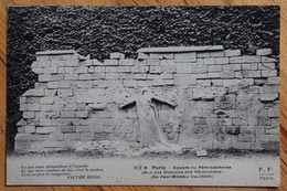 Paris : Square Du Père-Lachaise - Le Mur Aux Victimes Des Révolutions - Poème De Victor Hugo - Plan Inhabituel (n°12798) - Arrondissement: 20