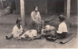 CEYLON - Lace Makers Avec Timbre - Sri Lanka (Ceylon)