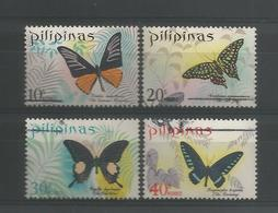 Philippines 1969 Butterflies Y.T. 743/746 (0) - Butterflies
