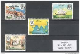 Sultanat D'oman. Bateaux - Oman