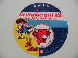 Etiquette Fromage Fondu - Vache Qui Rit - Bel Portion Pub Enfant Export   A Voir ! - Cheese