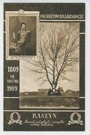 POLOGNE - POLAND - POLSKA - Centenaire 1809-1909 - POLSKIETOW : KRAJOZNAWCZE - RASZYN - Poland
