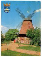 Finland 1966 Postcard Turku - Åbo - Samppalinna Windmill - Finland