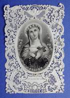 ANCIEN RARE  CANIVET    HOLY CARD SANTINI   SAINTE ROSE DE LIMA    ED. LANGLUME - Imágenes Religiosas