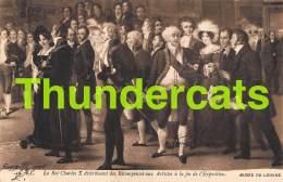 CPA MUSEE DU LOUVRE  ILLUSTRATEUR  LE ROI CHARLES X ART COMTE B. TYSZKIEWICZ PARIS - Musées