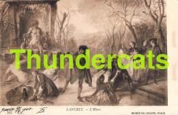 CPA MUSEE DU LOUVRE  ILLUSTRATEUR LANCRET  ART COMTE B. TYSZKIEWICZ PARIS - Musées