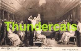 CPA MUSEE DU LOUVRE  ILLUSTRATEUR CHASSERIAU   ART COMTE B. TYSZKIEWICZ PARIS - Musées