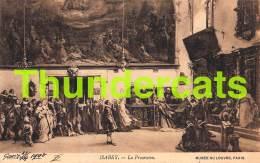 CPA MUSEE DU LOUVRE  ILLUSTRATEUR ISABEY   ART COMTE B. TYSZKIEWICZ PARIS - Musées