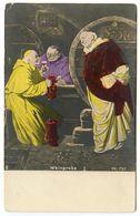 Germanic Vintage Postcard Weinprobe / Wine Tasting - Other