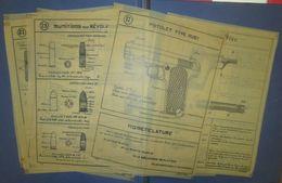 Planches D'Instructions Pour Retroprojecteur-P.A Ruby-France 40 - Documents