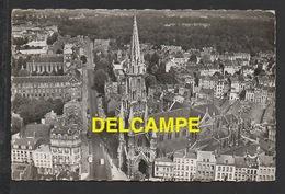 DF / 59 NORD / LILLE / VUE AÉRIENNE DU QUARTIER DE L' ÉGLISE DU SACRÉ-COEUR / CIRCULÉE EN 1958 - Lille
