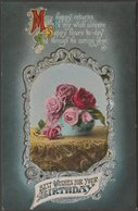 Best Wishes For Your Birthday, C.1910 - Postcard - Birthday