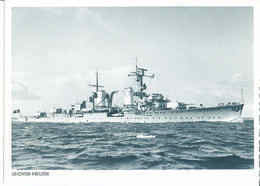 Light Cruiser Kriegsmarine Second World War - Kriegsmarine Leichter Kreuzer WW2 Weltkrieg Germany 1940 Shipping FREE - Unclassified