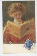 POLOGNE - POLAND - POLSKA - Portrait De Femme - Illustrateur T. AXENTOWICZ - Polen