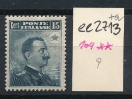 Italien-Nr.-104   Bitte  Zettel Beachten !   ( Ee2713  ) Siehe Scan ! - 1900-44 Victor Emmanuel III