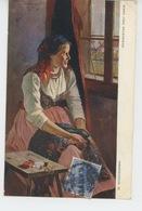 POLOGNE - POLAND - POLSKA - Portrait De Femme - Illustrateur W. WODZINOWSKI - Pologne