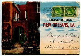 United States 1935 Souvenir Folder Postcard New Orleans, Louisiana - New Orleans