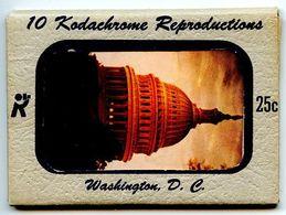 United States Modern Postcard 10 Kodachrome Color Cards - Washington, D.C - Washington DC