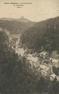 004602  Böhm. Schweiz - Herrnskretschen Mit Zirkelstein  1928 - Böhmen Und Mähren