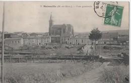 Moineville ( M Et Mos) Vue Générale – Circulé En 1909 - Autres Communes