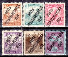 Cecoslovacchia-059 - Valori Del 1919 (+) Hinged - Senza Difetti Occulti. - Cecoslovacchia