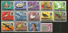 PITCAIRN COMPLETE YEAR  1964 .    14 Mint Stamps **   Value Yvert  42,00 € - Islas De Pitcairn