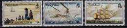 Migration De La Population De L'ile  Pitcairn A L'ile Norfolk En 1856.  3 T-p Neufs **. Yv.# 199/201 - Timbres