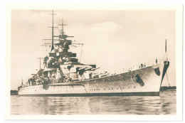 Gneisenau Battleship Kriegsmarine Second World War - Schlachtschiff WW2 Weltkrieg Germany 1940 Shipping FREE - Unclassified
