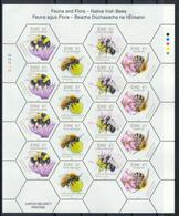 Irland Klb. 'In Irland Heimische Bienen' / Ireland Sh. 'Native Irish Bees' **/MNH 2018 - Abeilles