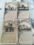 """1 LOT DE 98 CARTES """"COLLECTION HISTORIQUE DES CHÂTEAUX DE GUYENNE"""" - Postcards"""