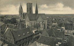 004611  Ribe  Teilansicht Mit Kirche - Dänemark