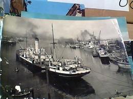 SAVONA PORTO NAVE CARGO SHIP CHERCA TRIESTE  VB1952 GT2487 - Savona