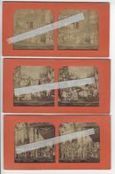 3 Stéréos THEATRE ET DIVERS Circa 1870 PHOTO STEREO A LA LUMIERE ROMEO JULIETTE MICHEL STROGOFF GEROLSTEIN /FREE SHIP. R - Photos Stéréoscopiques