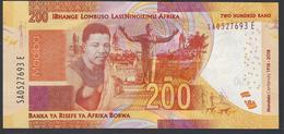 South Africa - 200 Rand -  MANDELA Centenary - 1918 - 2018 - SA0527693 E - - UNC - Sudafrica